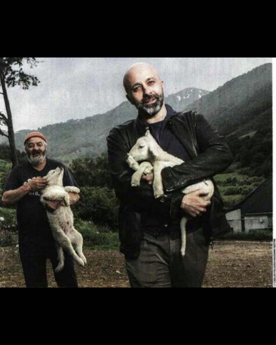 Niko Romito 3 stelle Michelin e il pastore Gregorio Rotolo