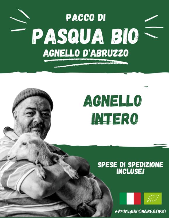 Pacco Pasqua Bio - Agnello Intero - Gregorio Rotolo - Abruzzo