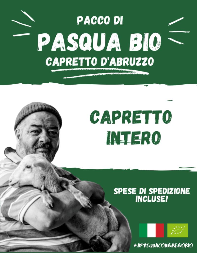 Pacco Pasqua Bio - Capretto Intero - Gregorio Rotolo - Abruzzo