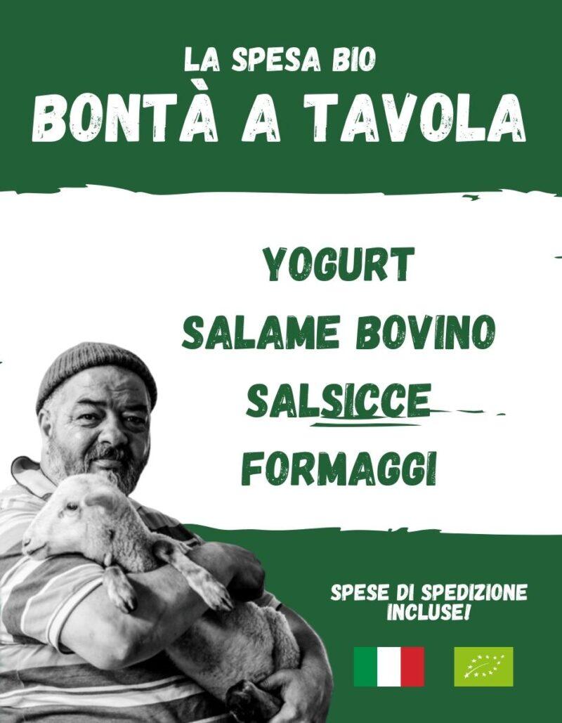Bontà a tavola - La spesa bio da Gregorio Rotolo prodotti biologici, formaggi biologici a latte crudo