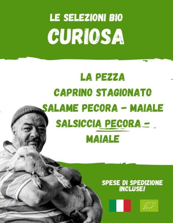 CURIOSA- La spesa bio da Gregorio Rotolo prodotti biologici, formaggi biologici a latte crudo