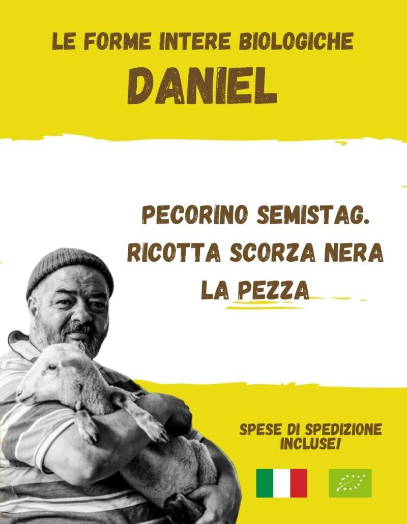 DANIEL La spesa bio da Gregorio Rotolo prodotti biologici, formaggi biologici a latte crudo