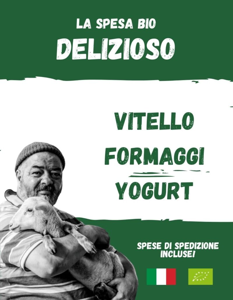 DELIZIOSO - La spesa bio da Gregorio Rotolo prodotti biologici, formaggi biologici a latte crudo